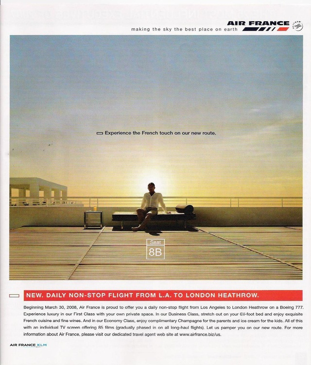 Airline Ad 3 Air France Brandingblog By Dave Young